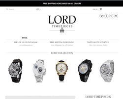 Lord Timepieces 折扣碼